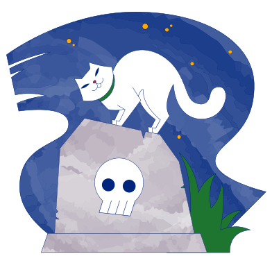style Cemetery night images in PNG and SVG | Icons8 Illustrations
