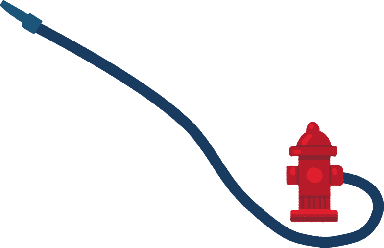 firehose Clipart illustration in PNG, SVG