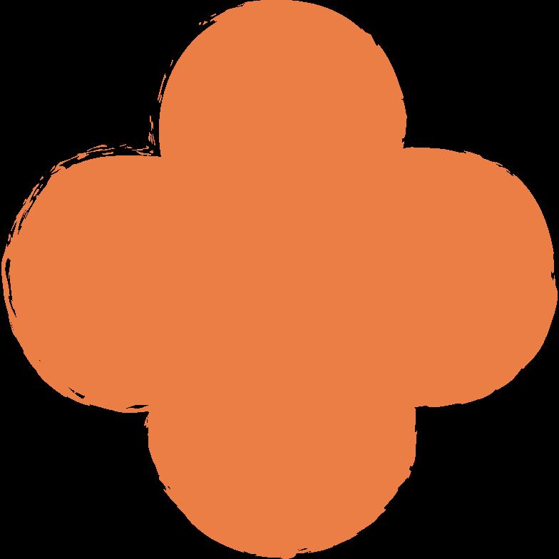 Vektorgrafik im  Stil Vierpass-orange als PNG und SVG | Icons8 Grafiken
