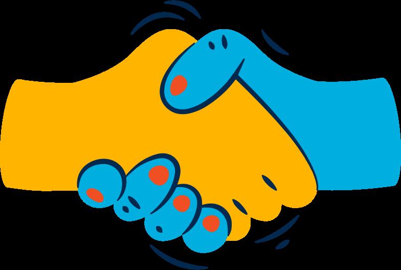 Immagine Vettoriale handshake in PNG e SVG in stile  | Illustrazioni Icons8