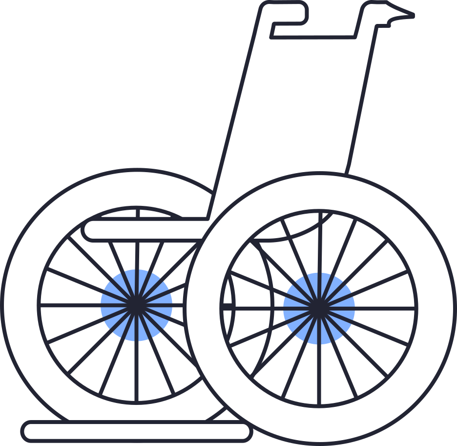 style wheelchair Vector images in PNG and SVG | Icons8 Illustrations