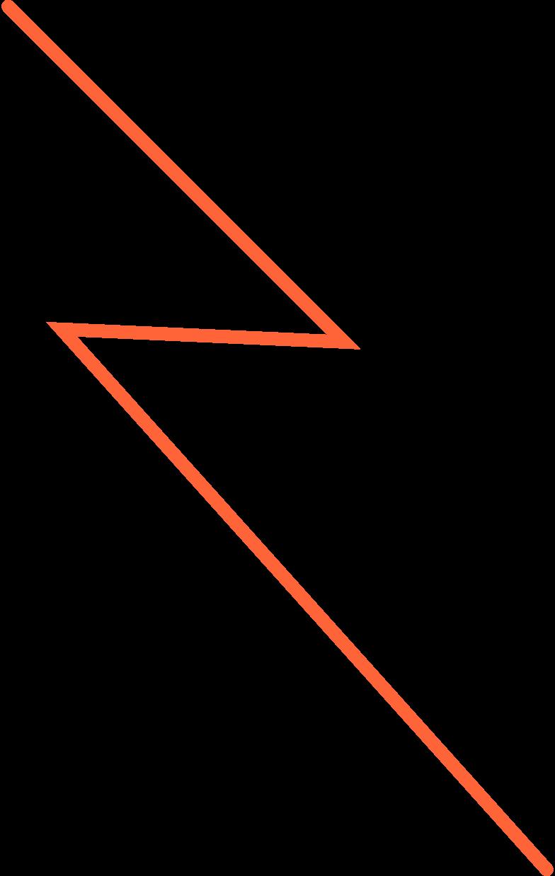 halloween magic  lightning Clipart illustration in PNG, SVG