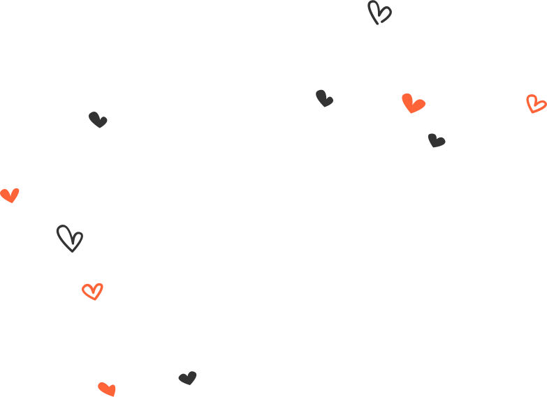 background hearts Clipart illustration in PNG, SVG