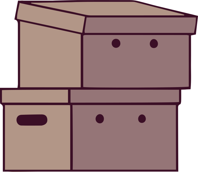 office box Clipart illustration in PNG, SVG