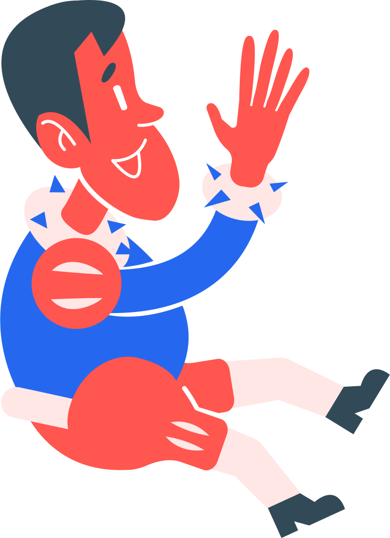 boy jumping Clipart illustration in PNG, SVG