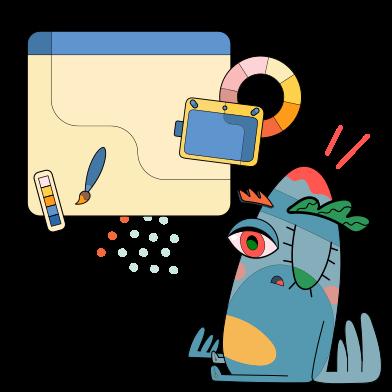 Imágenes de Diseño web estilo  en PNG y SVG | Ilustraciones Icons8