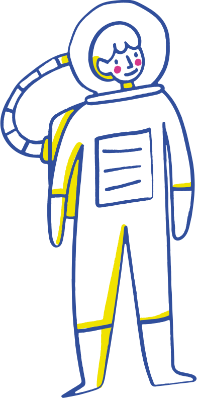style astronaut images in PNG and SVG | Icons8 Illustrations