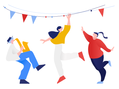style Let's party  images in PNG and SVG | Icons8 Illustrations