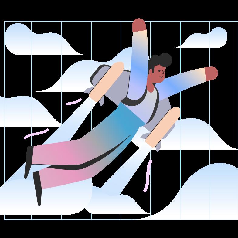 Ilustración de clipart de Idea de negocio de inicio en PNG, SVG