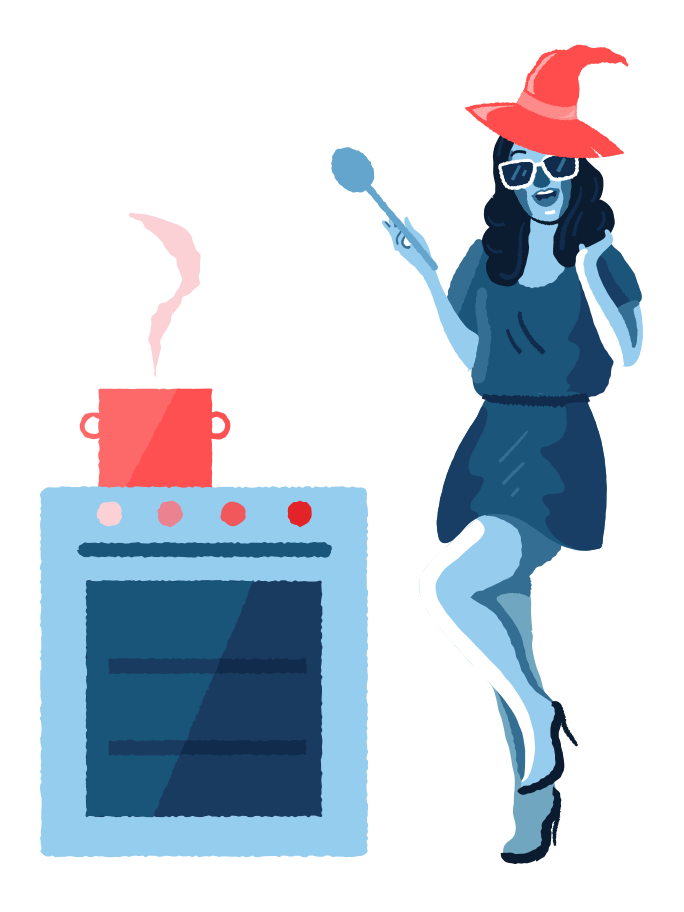 Magic cooking Clipart illustration in PNG, SVG