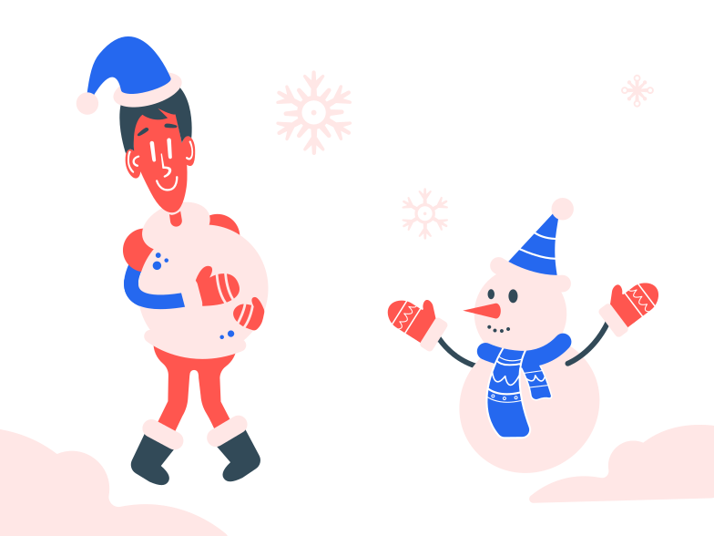 style Making a snowman Vector images in PNG and SVG | Icons8 Illustrations
