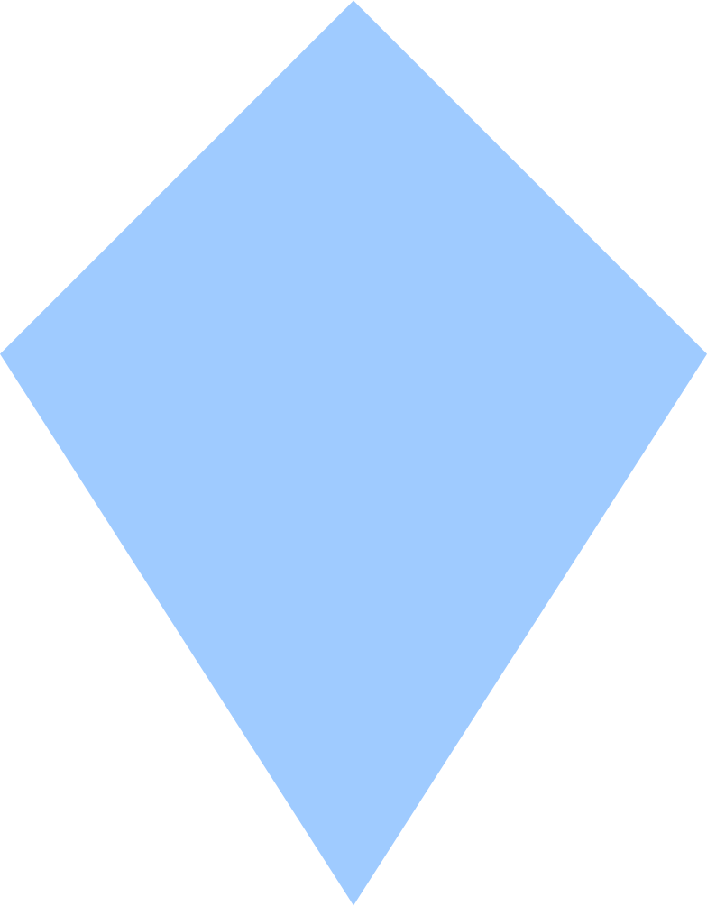kite-light-blue Clipart illustration in PNG, SVG