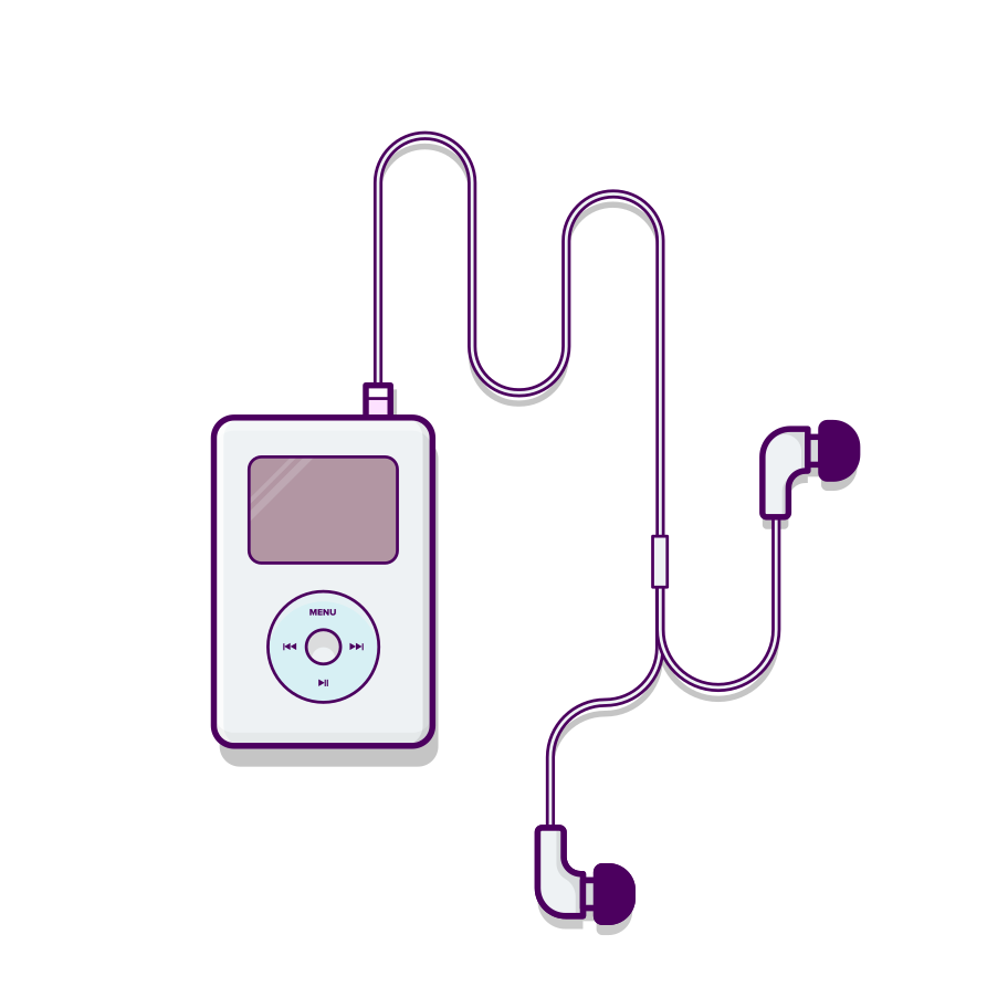 iPod Clipart illustration in PNG, SVG