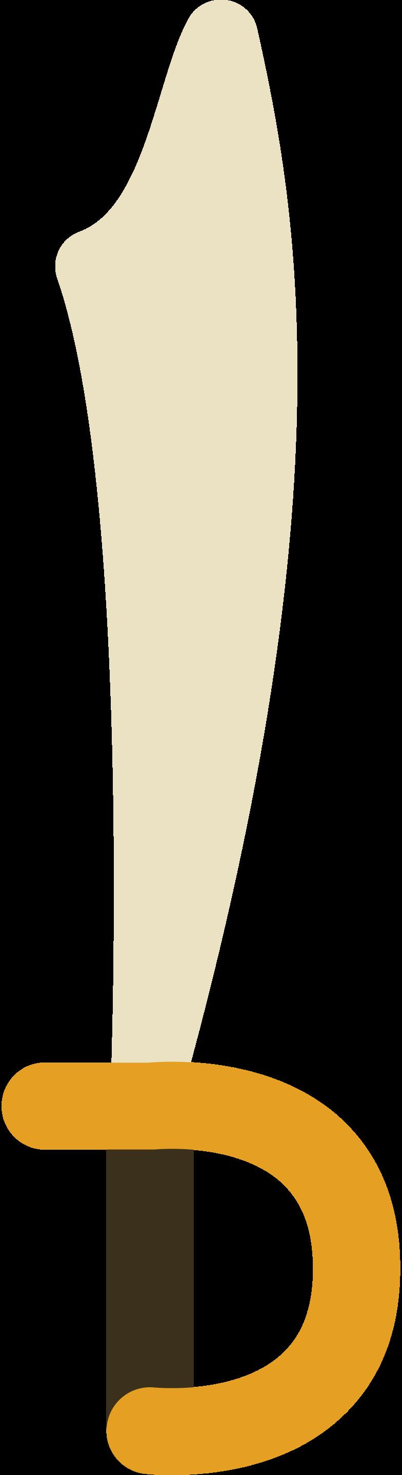 sword sabre Clipart illustration in PNG, SVG