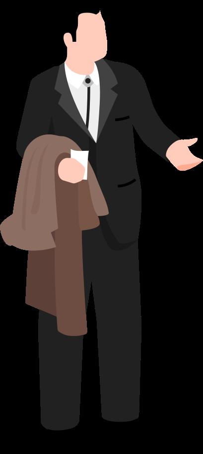 john travolta Clipart illustration in PNG, SVG