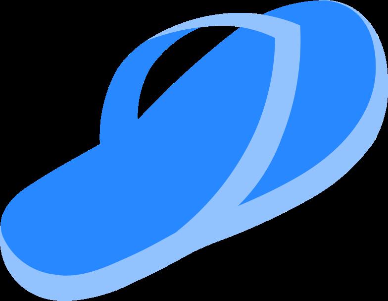 flipflops Clipart illustration in PNG, SVG