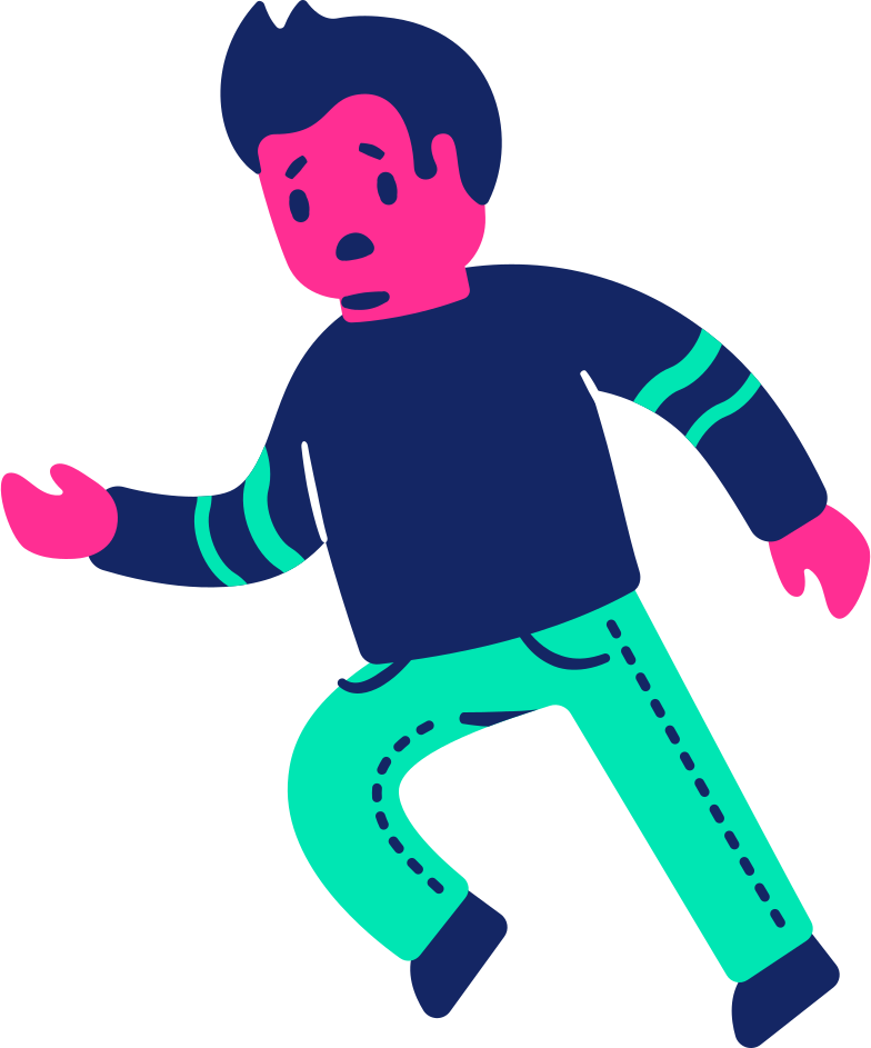 Imágenes vectoriales Hombre triste corriendo en PNG y SVG estilo  | Ilustraciones Icons8