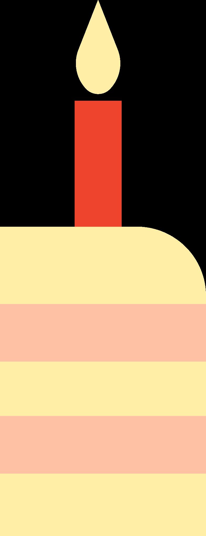 PNGとSVGの  スタイルの バースデーケーキのスライス ベクターイメージ | Icons8 イラスト