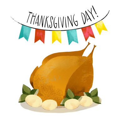 style Thanksgiving turkey images in PNG and SVG | Icons8 Illustrations