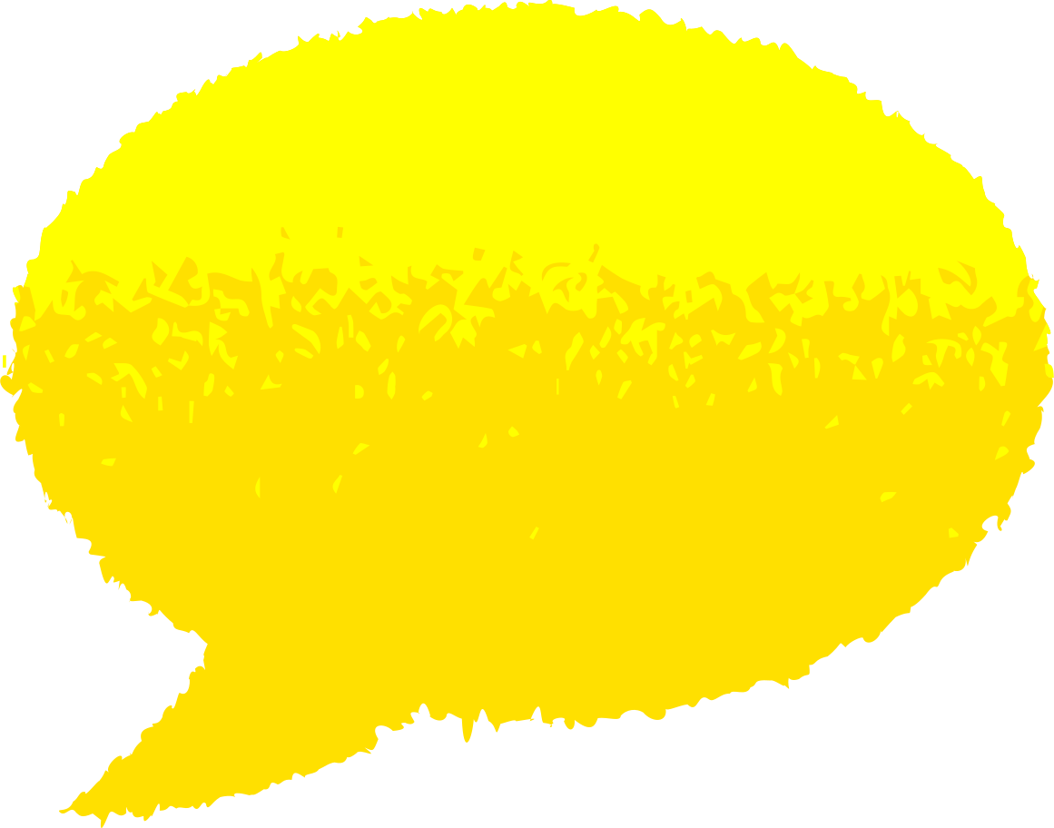 Sprechblase Clipart-Grafik als PNG, SVG
