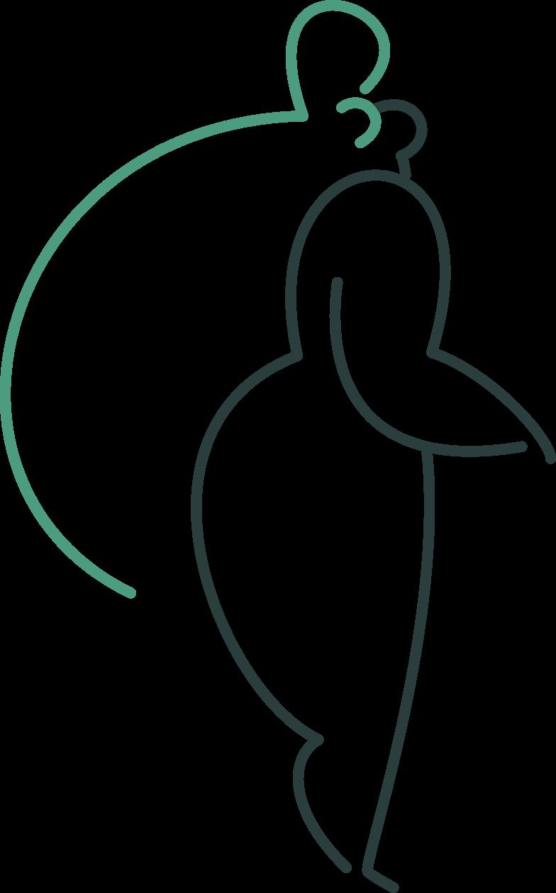 bride Clipart illustration in PNG, SVG