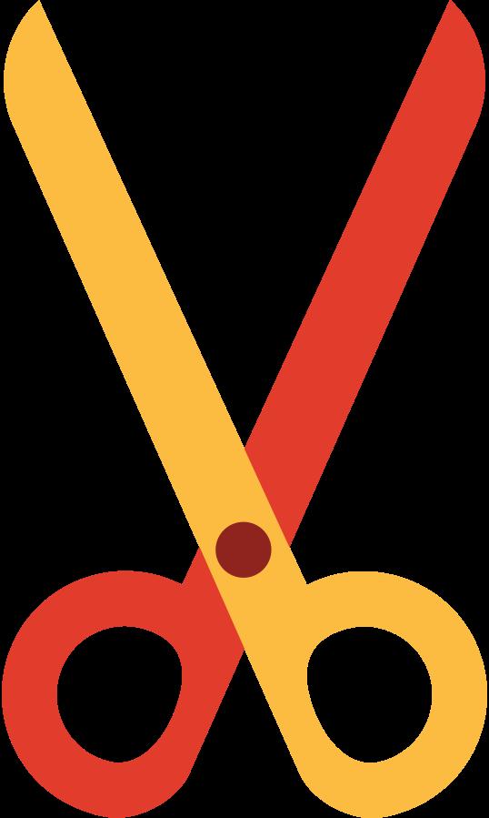 scissors open Clipart illustration in PNG, SVG