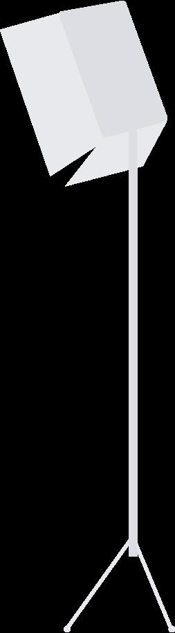 photostudio lamp Clipart illustration in PNG, SVG