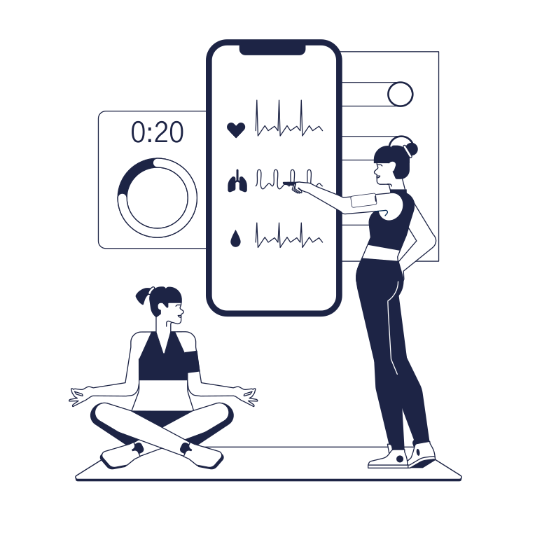 style Fitness Gadgets Vector images in PNG and SVG | Icons8 Illustrations