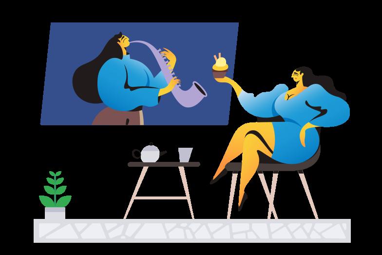 Сinema Clipart illustration in PNG, SVG