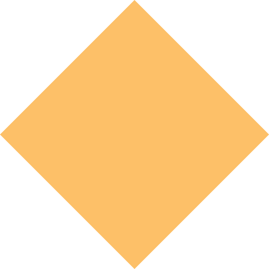 rhombus orange Clipart illustration in PNG, SVG