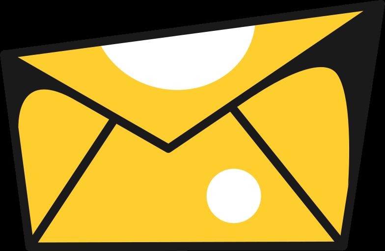 letter mail Clipart illustration in PNG, SVG