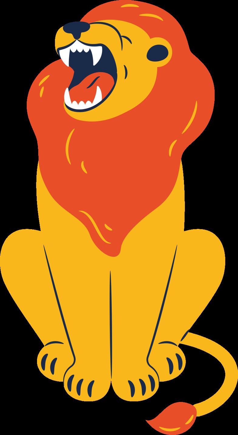 Imágenes vectoriales León sentado en PNG y SVG estilo  | Ilustraciones Icons8
