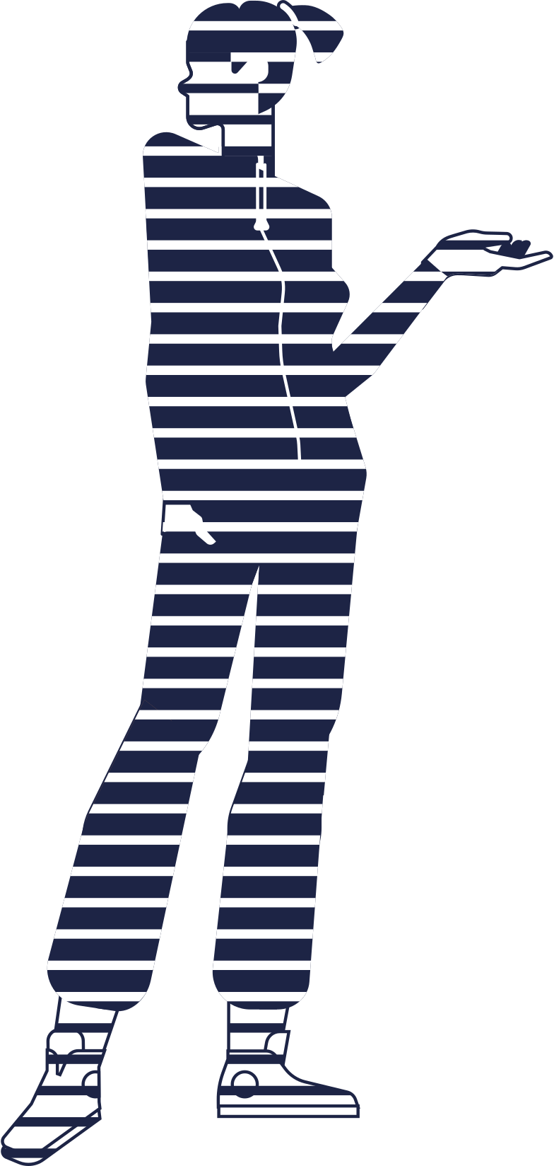 online shopping  mannequin line Clipart illustration in PNG, SVG