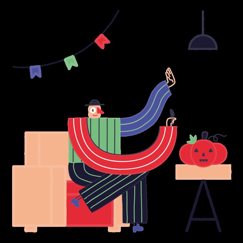 Immagine Vettoriale Prepararsi per halloween in PNG e SVG in stile  | Illustrazioni Icons8