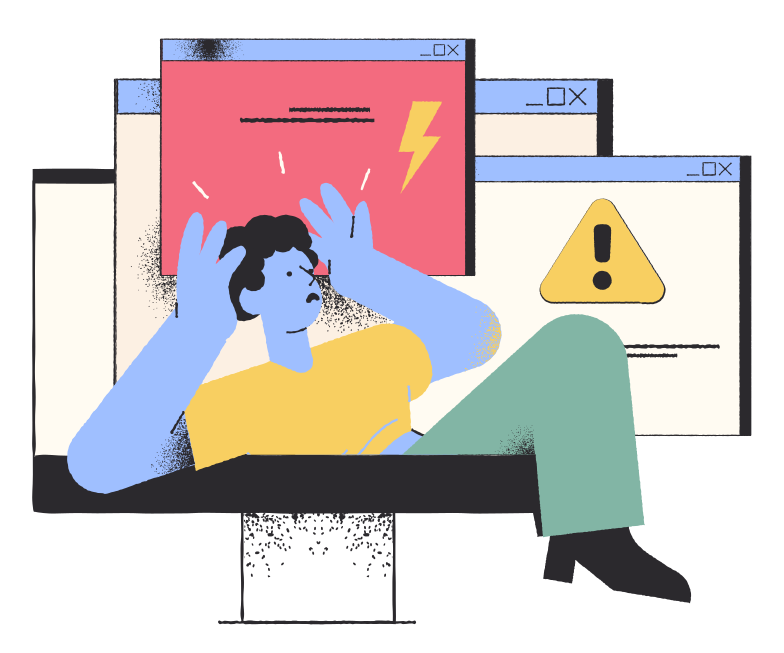 Prohibited content Clipart illustration in PNG, SVG