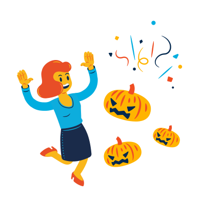 style Scary Pumpkins images in PNG and SVG | Icons8 Illustrations