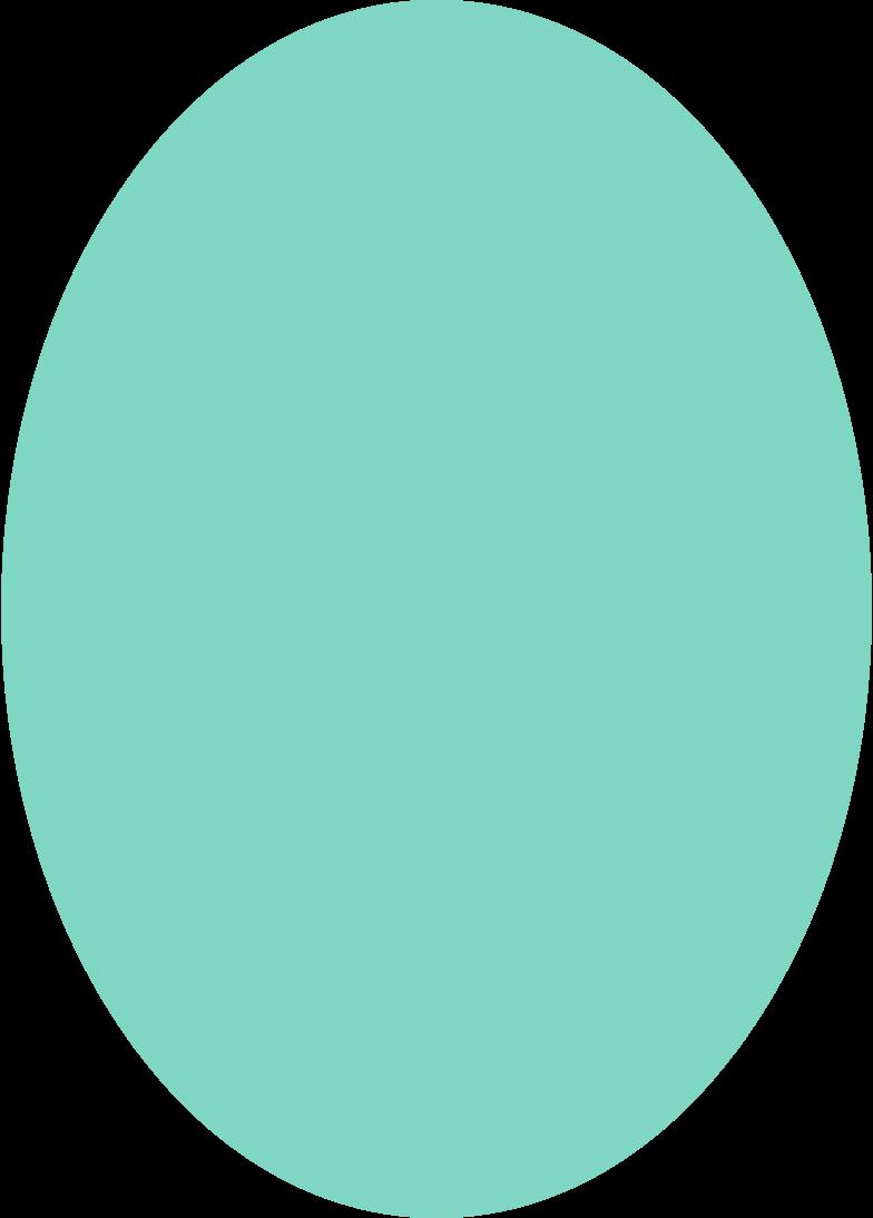 ellipse shape Clipart illustration in PNG, SVG