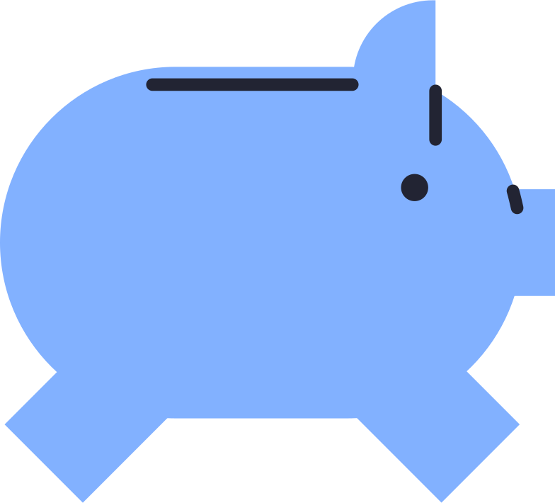 payment processed  money box Clipart illustration in PNG, SVG