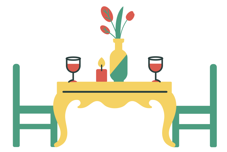 Date place Clipart illustration in PNG, SVG