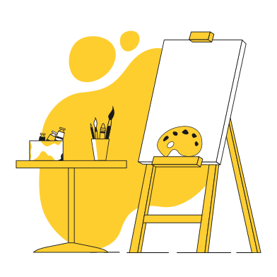 style Art supplies images in PNG and SVG | Icons8 Illustrations