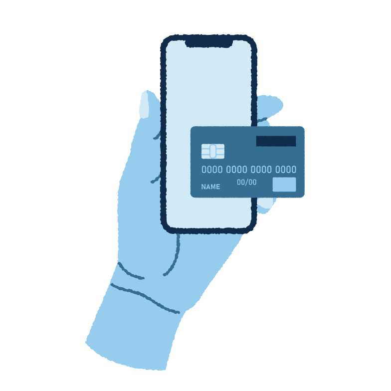 Mobile payment  Clipart illustration in PNG, SVG