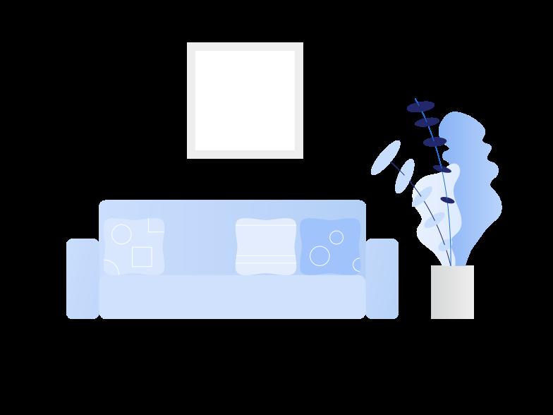 room Clipart illustration in PNG, SVG