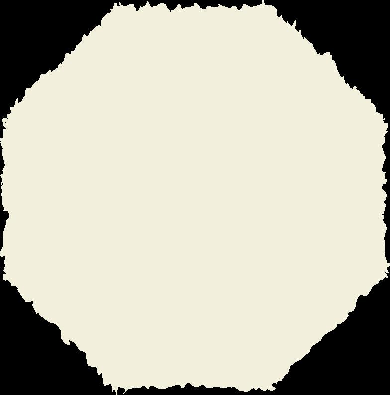 octagon beige Clipart illustration in PNG, SVG