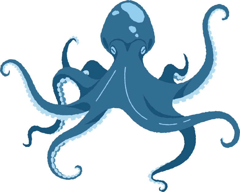 giant octopus Clipart illustration in PNG, SVG