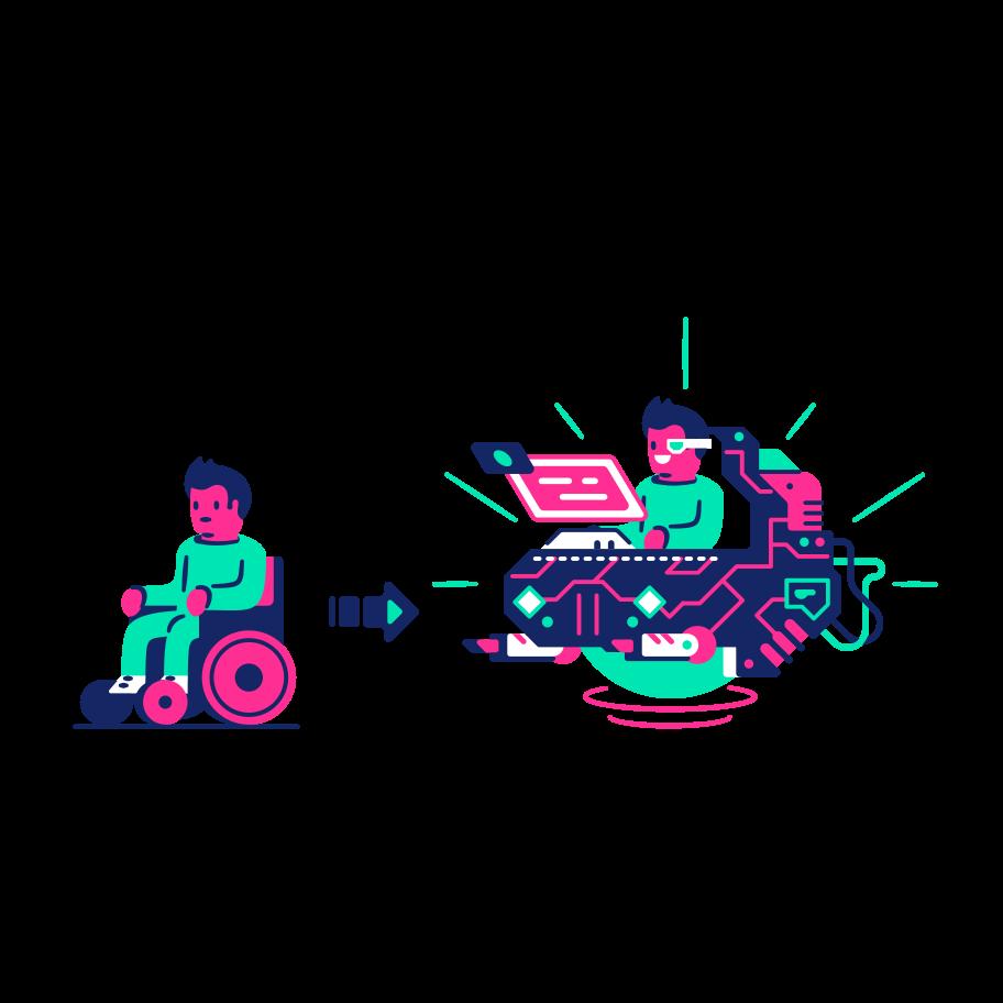 Upgrade Clipart illustration in PNG, SVG