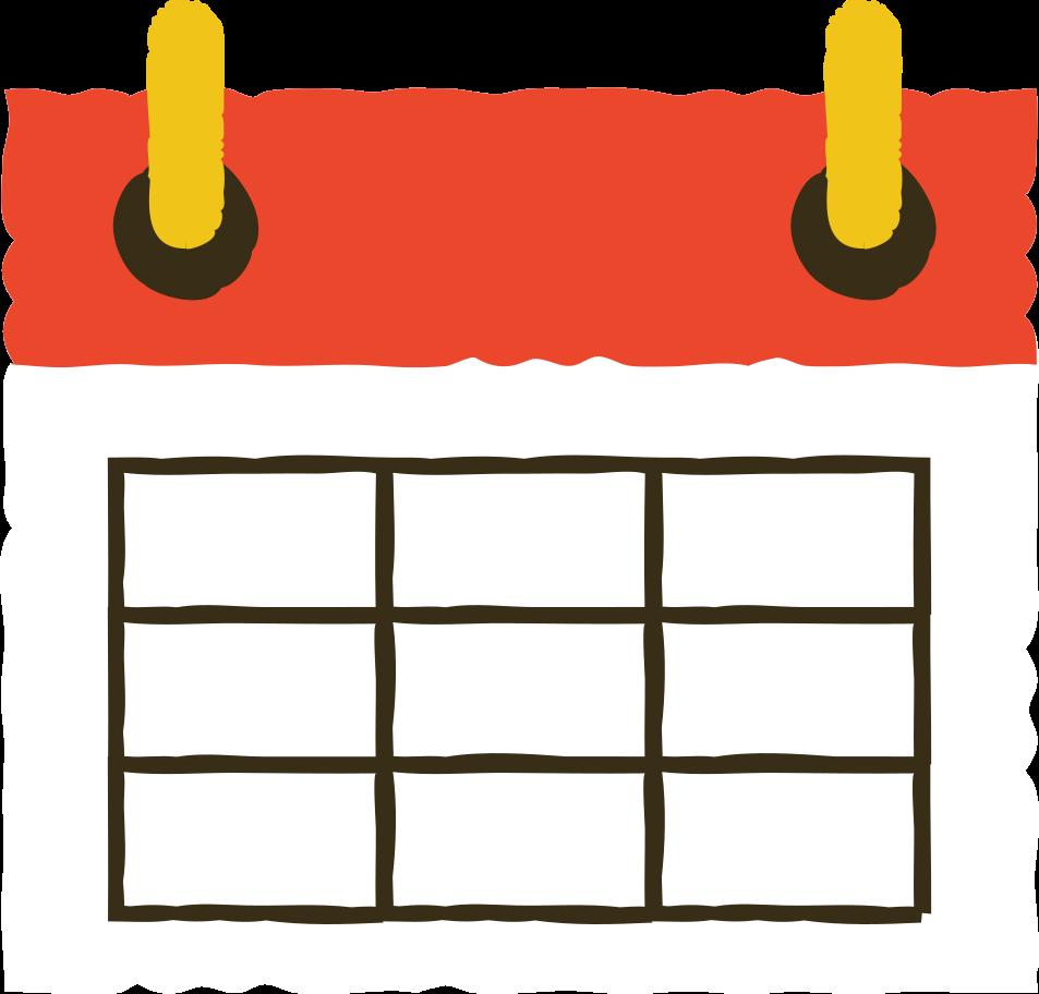 Kalender Clipart-Grafik als PNG, SVG