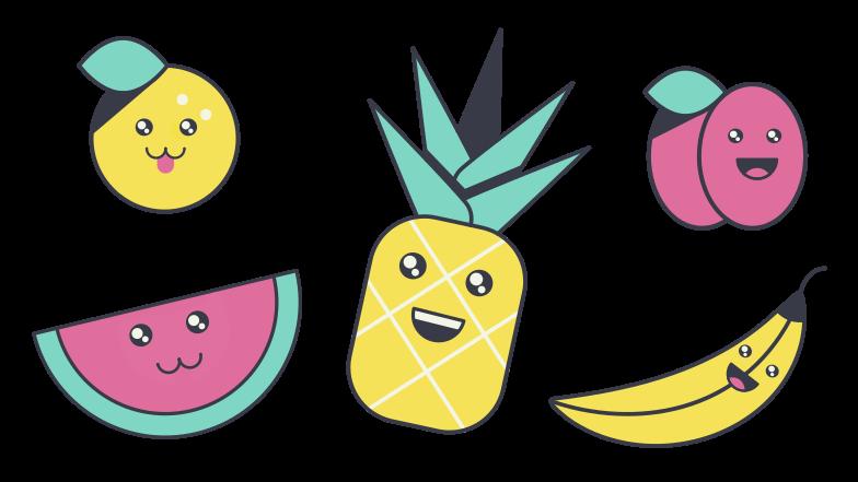 Fruits Clipart illustration in PNG, SVG