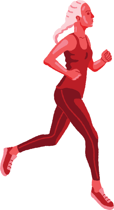 style woman running images in PNG and SVG | Icons8 Illustrations