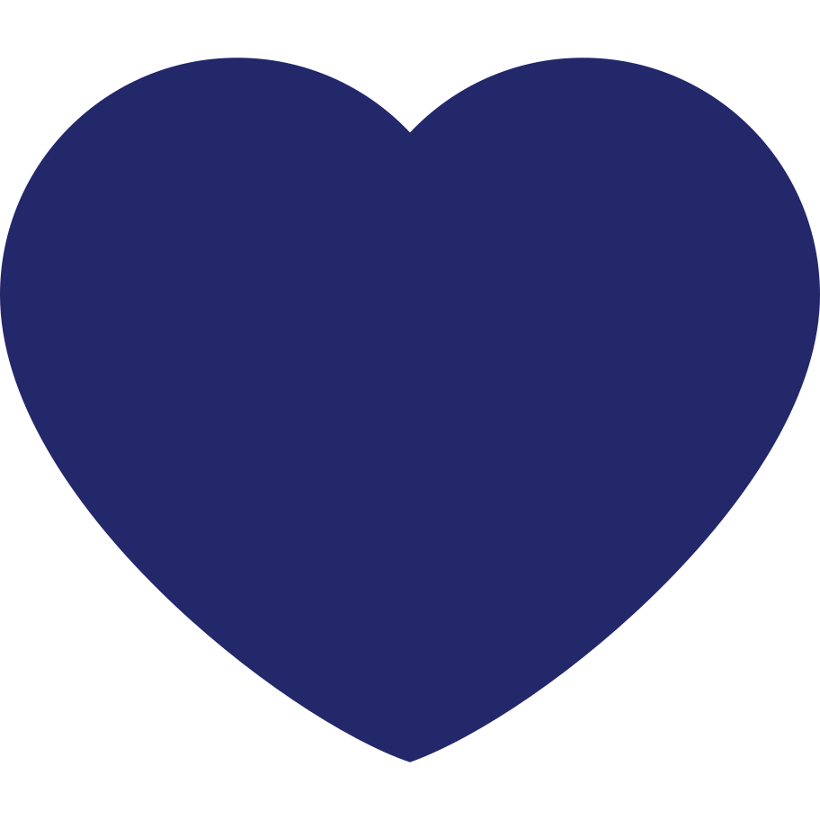 style heart dark blue Vector images in PNG and SVG | Icons8 Illustrations