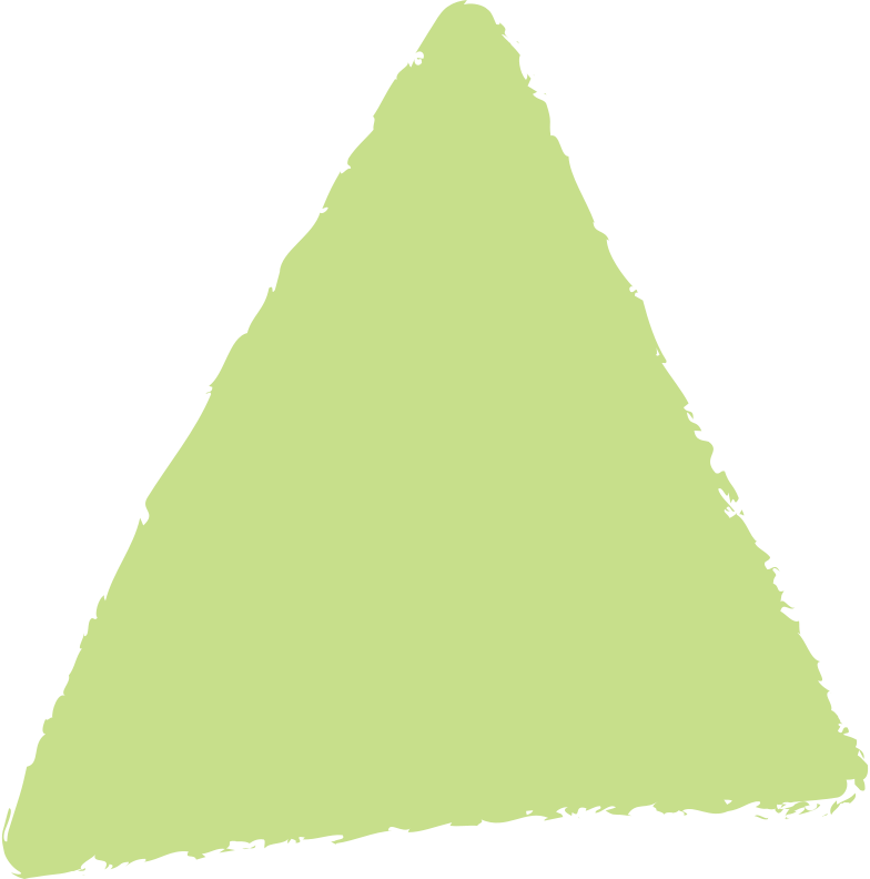 triangle-light-green Clipart illustration in PNG, SVG